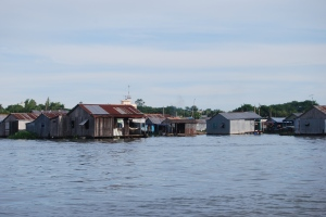 Mekong Delta + Floating village